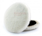 Futro polerskie WHITE WOOL PAD -  D130mm - 1927 - 3M